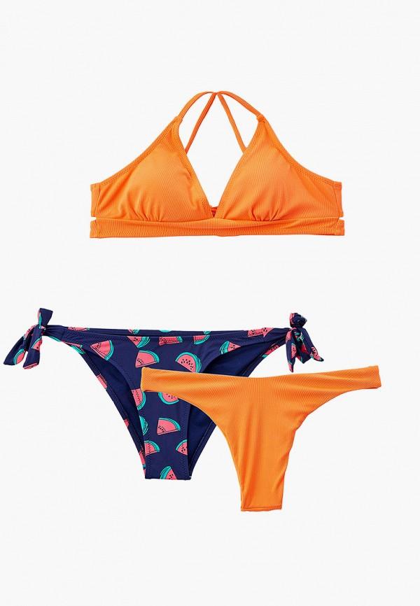 женские плавки rene santi, оранжевые
