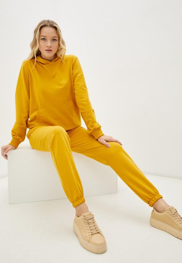 женский спортивный костюм rene santi, желтый