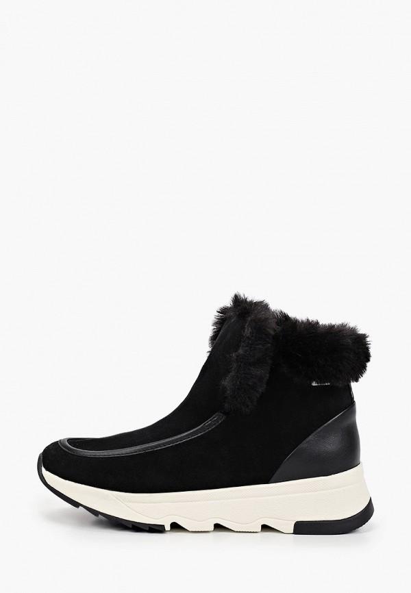 Ботинки Geox черного цвета