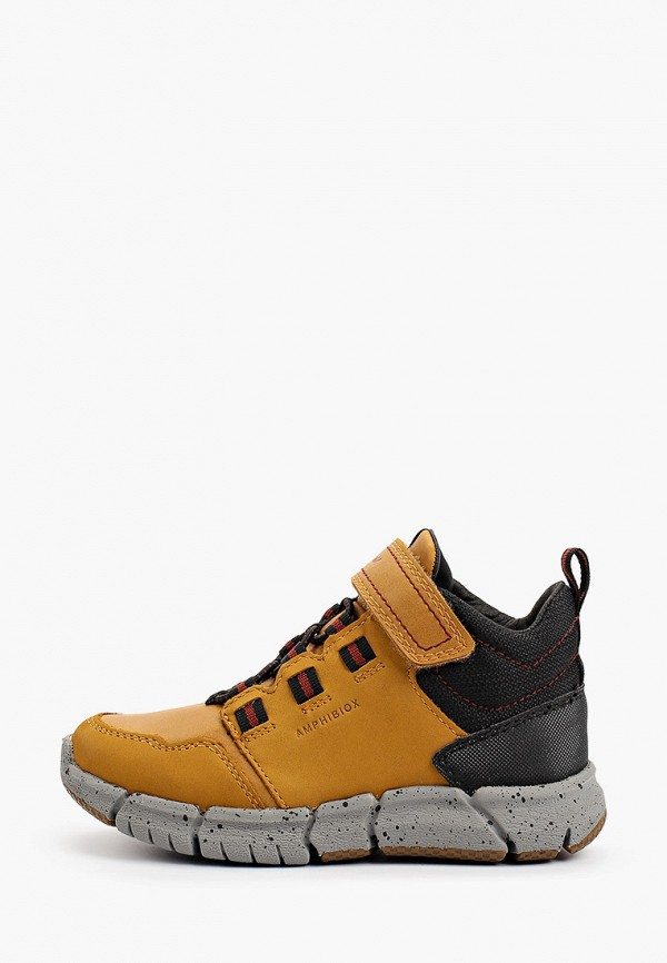 Ботинки Geox коричневого цвета