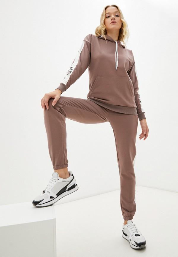 Костюм спортивный Dansanti коричневого цвета