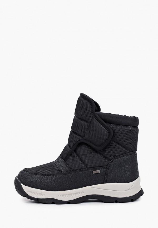 Ботинки Antilopa черного цвета
