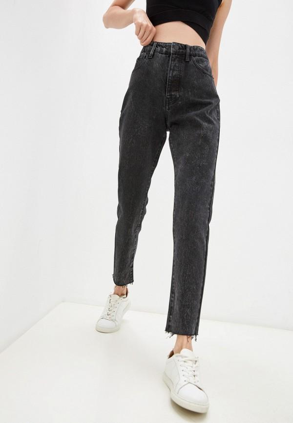 женские джинсы бойфренд armani exchange, черные