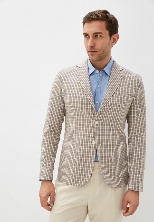 мужской пиджак miguel bharross, бежевый