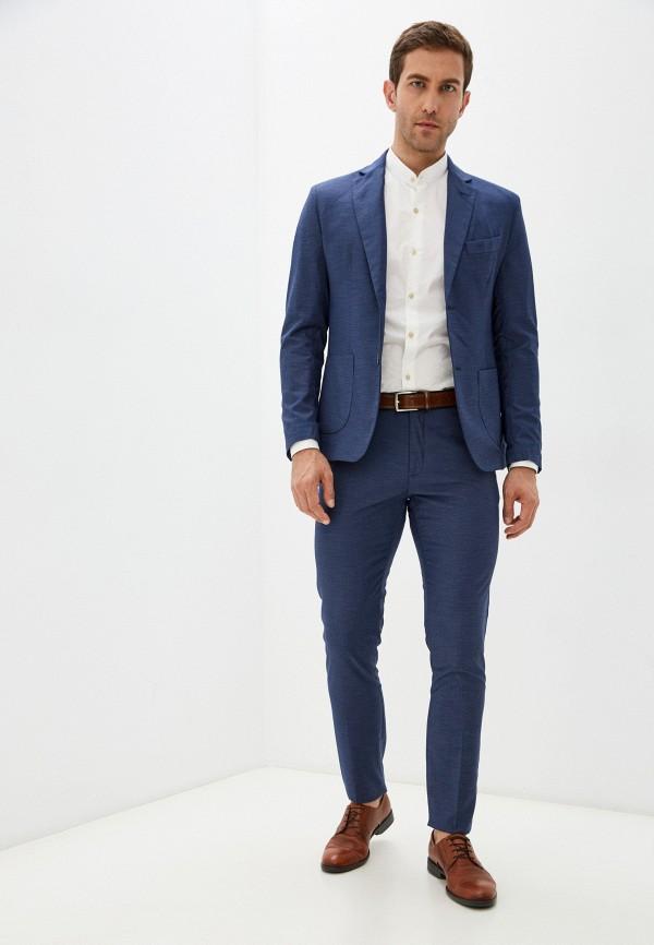 мужской костюм miguel bharross, синий
