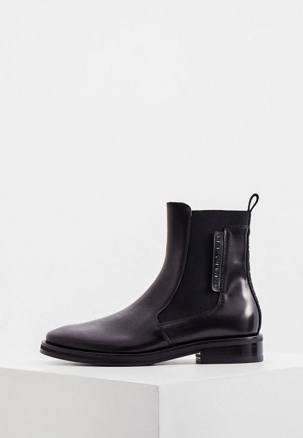 женские ботинки-челси fabi, черные