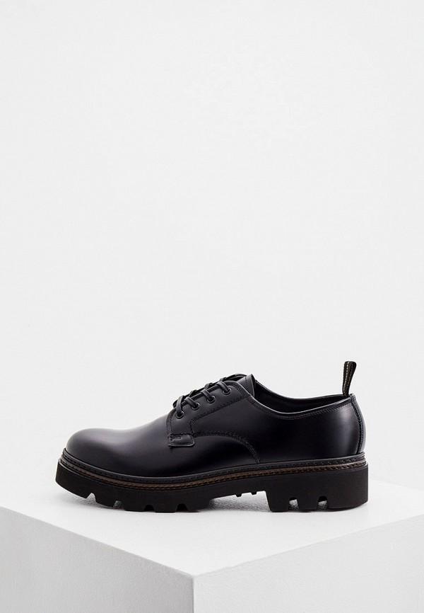 мужские низкие ботинки fabi, черные
