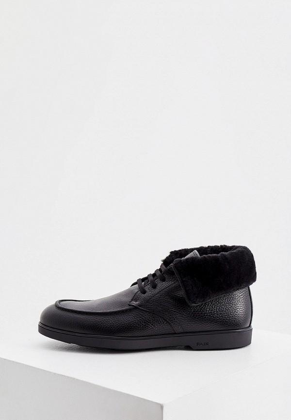 мужские высокие ботинки fabi, черные