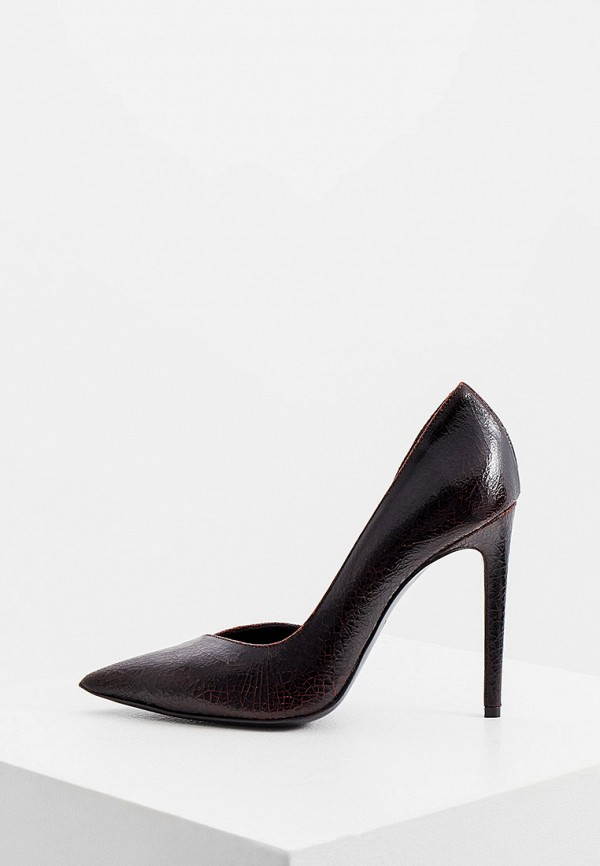 женские туфли just cavalli, бордовые