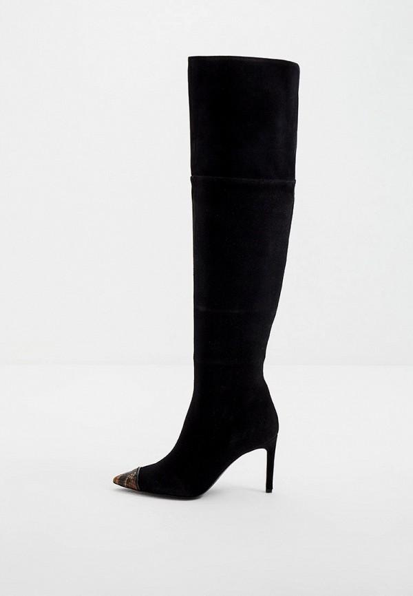 женские ботфорты just cavalli, черные