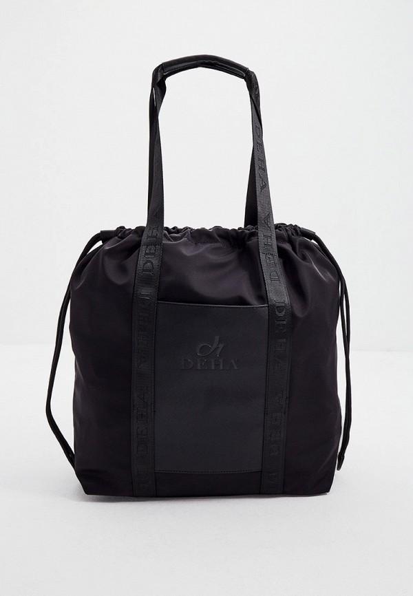 женская сумка-шоперы deha, черная