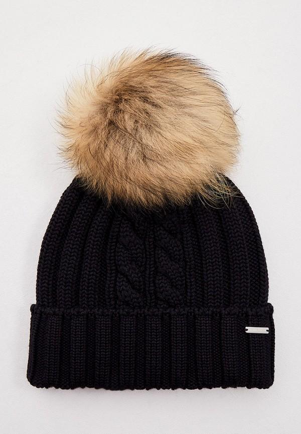 Шапка Woolrich черного цвета