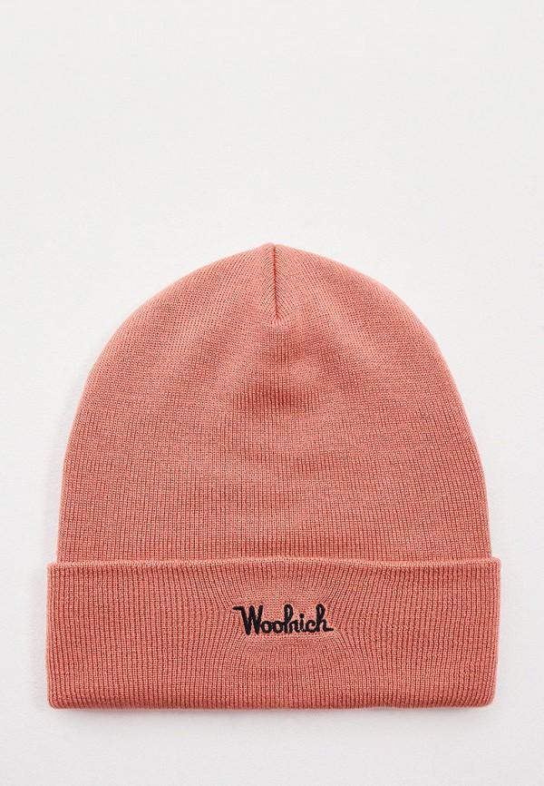 Шапка Woolrich розового цвета