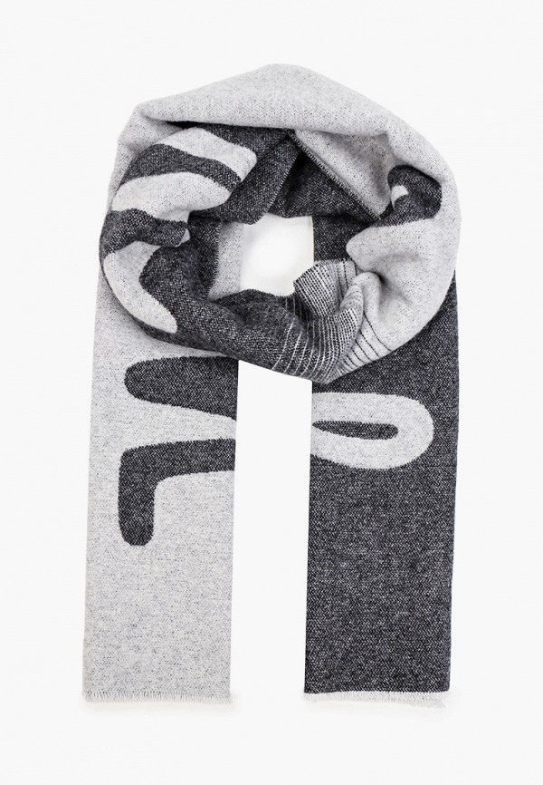 Шарф Woolrich серого цвета