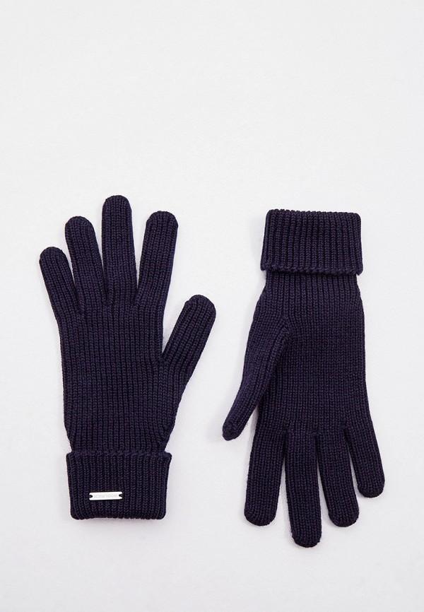 женские текстильные перчатки woolrich, синие