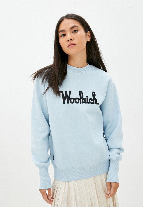 Свитшот Woolrich голубого цвета