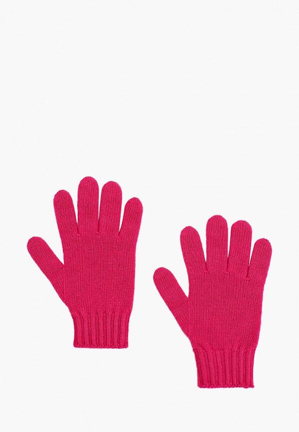 перчатки united colors of benetton для девочки, розовые