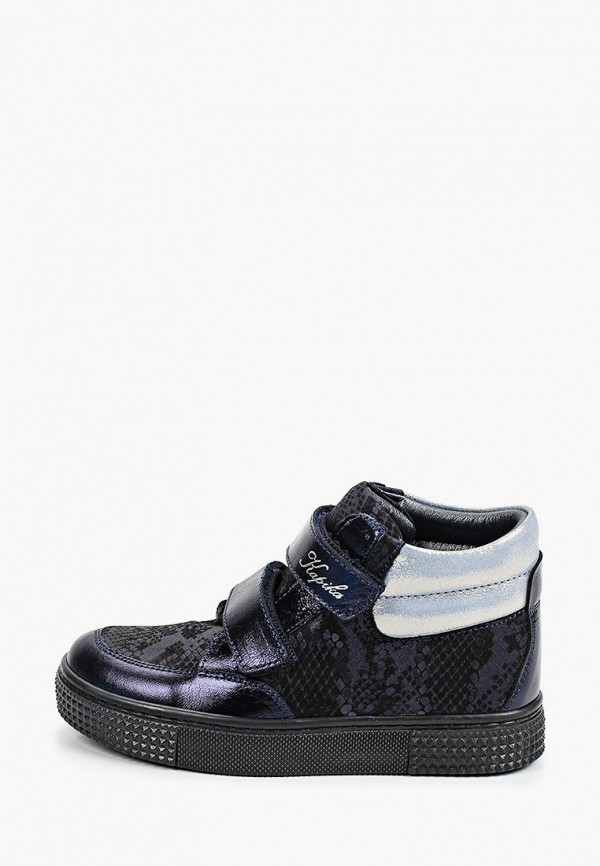 ботинки kapika для девочки, синие