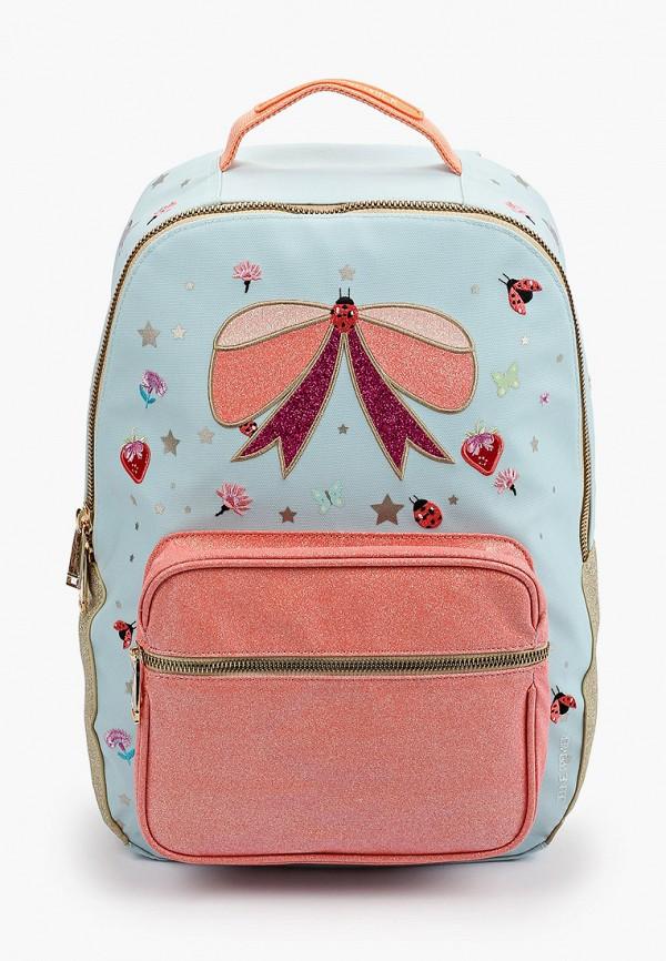 рюкзак jeune premier для девочки, голубой