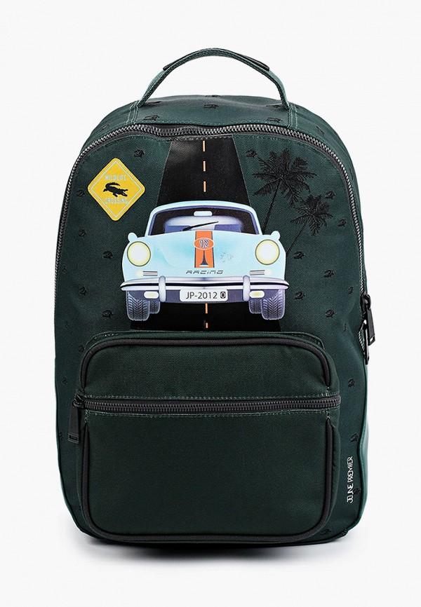 рюкзак jeune premier для мальчика, зеленый