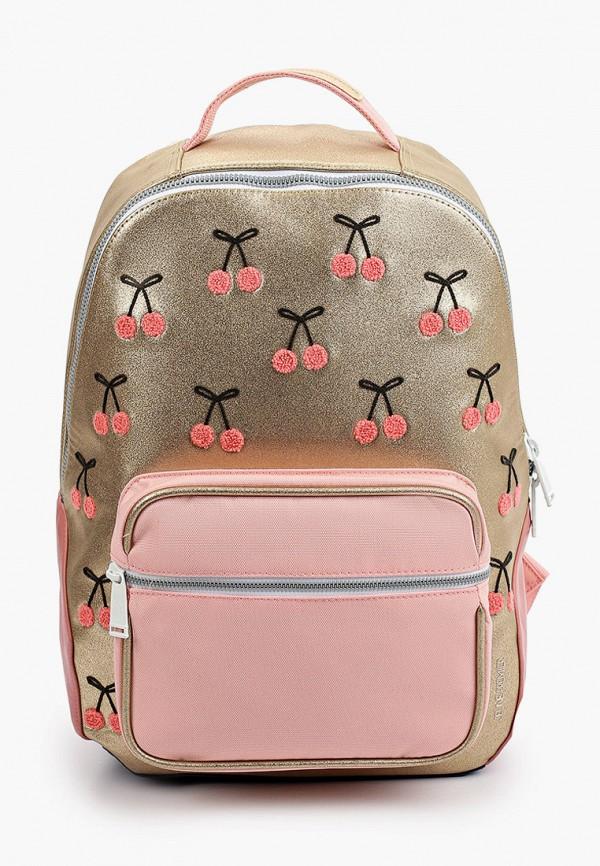 рюкзак jeune premier для девочки, золотой