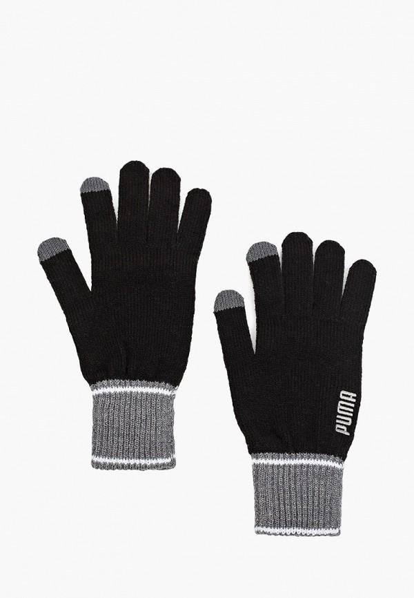 Перчатки PUMA черного цвета