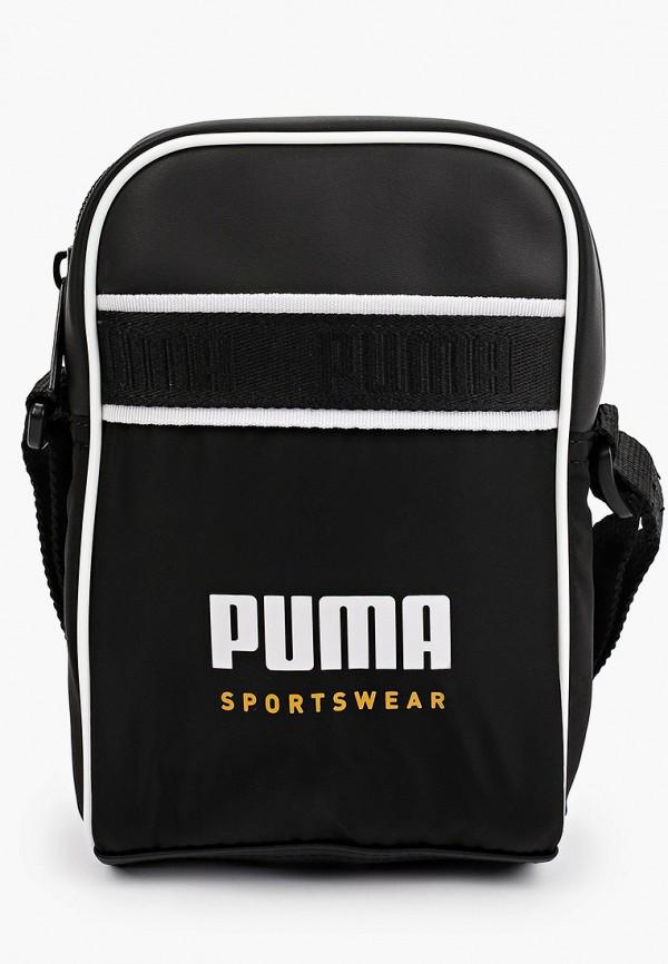 женская сумка puma, черная
