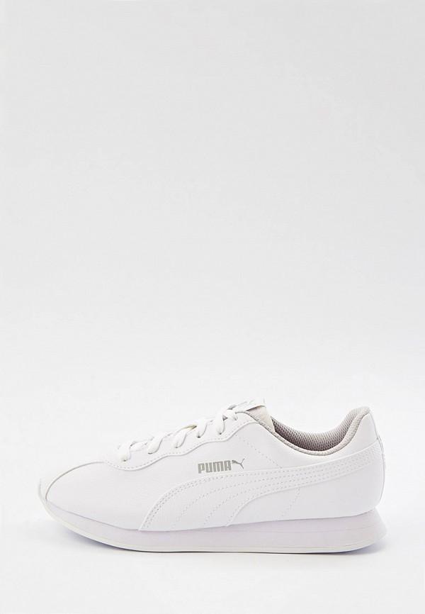 Кроссовки PUMA белого цвета