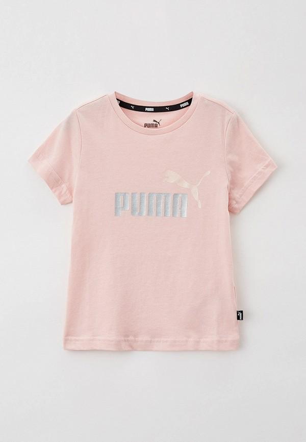 Футболка PUMA розового цвета