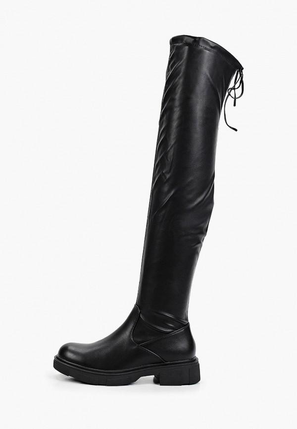 женские ботфорты fashion & bella, черные