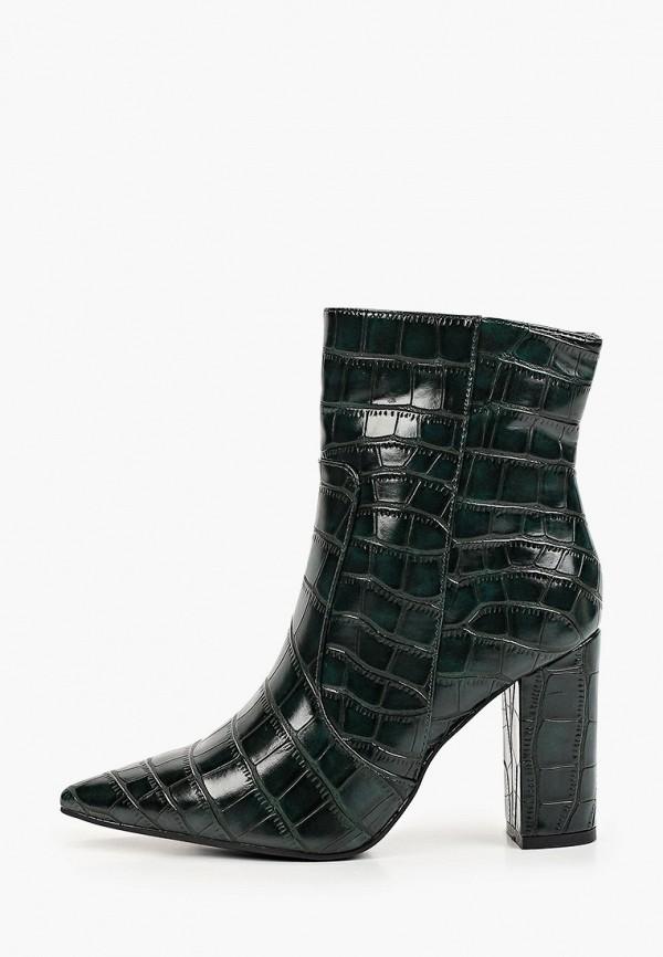 женские высокие ботильоны ideal shoes, золотые