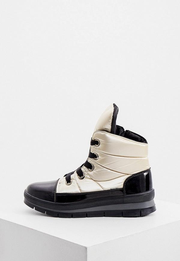 женские высокие ботинки jog dog, золотые