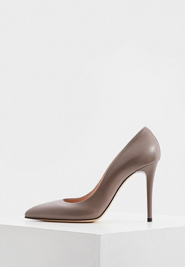 женские туфли-лодочки nando muzi, серые