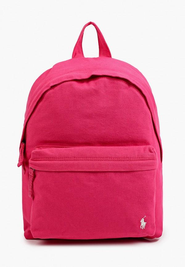 рюкзак polo ralph lauren для девочки, розовый