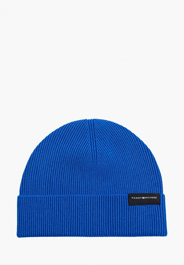 Шапка Tommy Hilfiger синего цвета