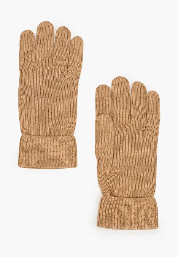 Перчатки Tommy Hilfiger коричневого цвета