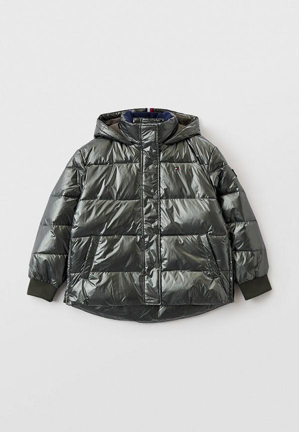 Куртка утепленная Tommy Hilfiger цвета хаки