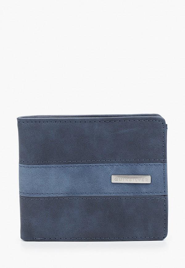 мужской кошелёк quiksilver, синий
