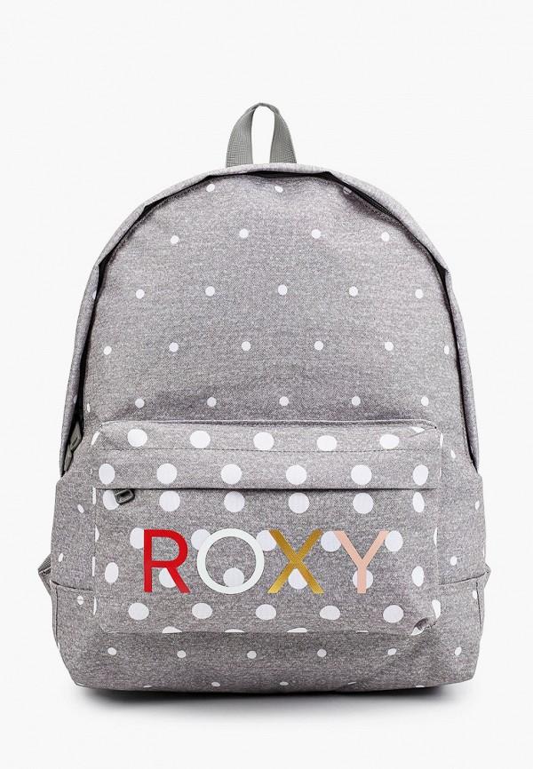 женский рюкзак roxy, серый