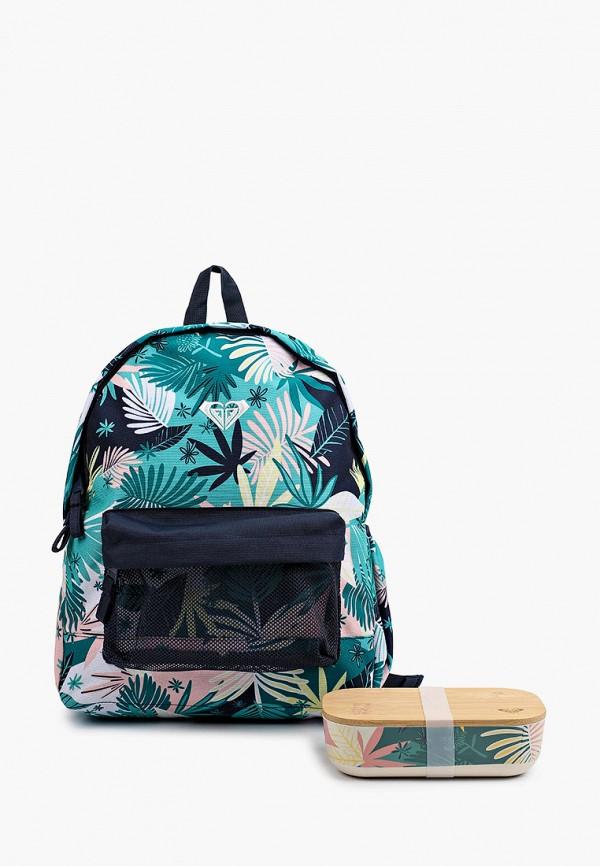 женский рюкзак roxy, бирюзовый