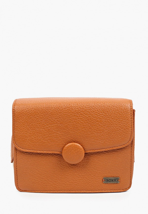 женская сумка через плечо roxy, оранжевая