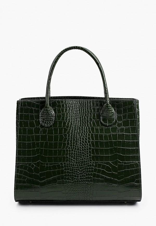 женская сумка с ручками giorgio costa, зеленая