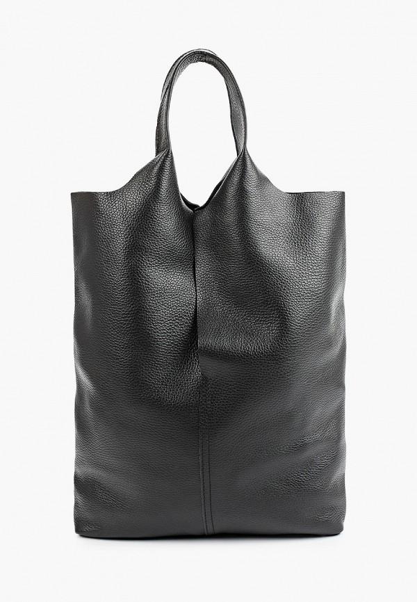 женская сумка с ручками giorgio costa, черная