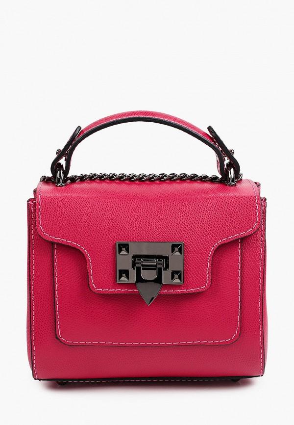 женская сумка с ручками giorgio costa, розовая
