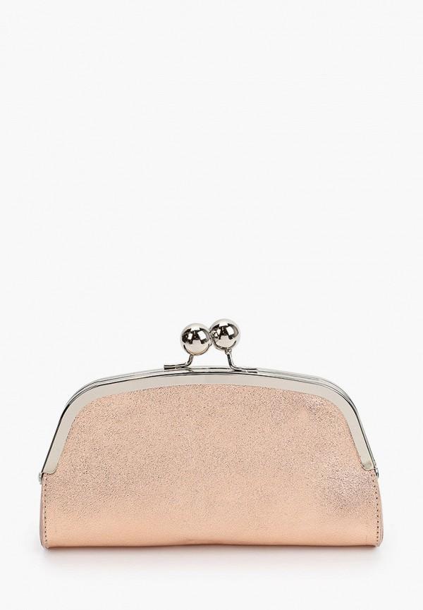 женский клатч giorgio costa, розовый