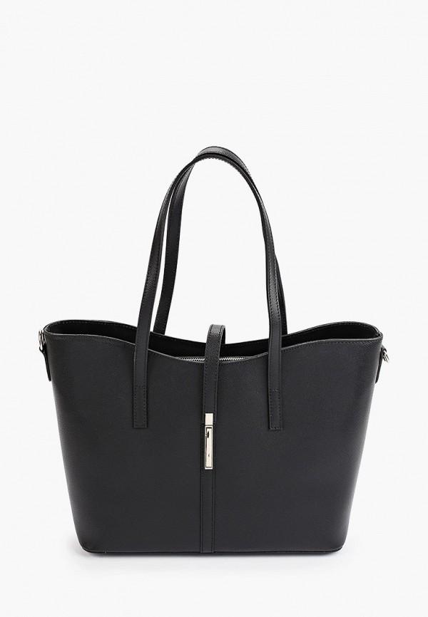 женская сумка-шоперы giorgio costa, черная
