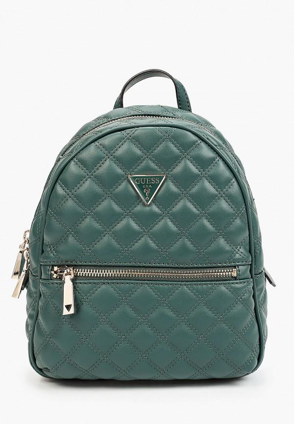 женский рюкзак guess, бирюзовый