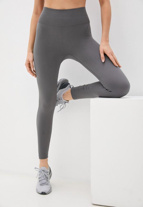 женские спортивные леггинсы guess, серые