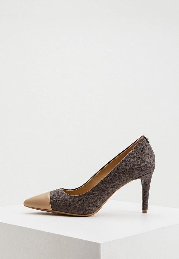 женские туфли-лодочки michael kors, коричневые