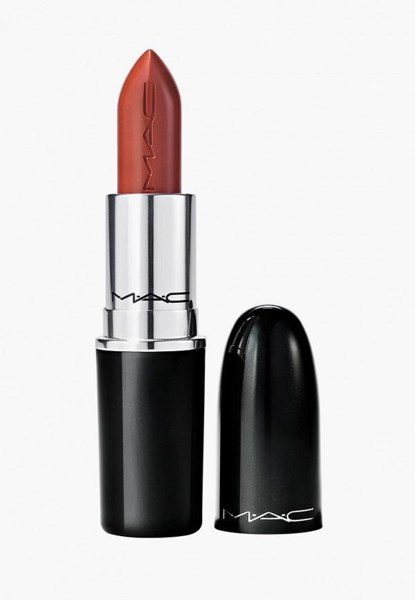 женская помада mac, красная